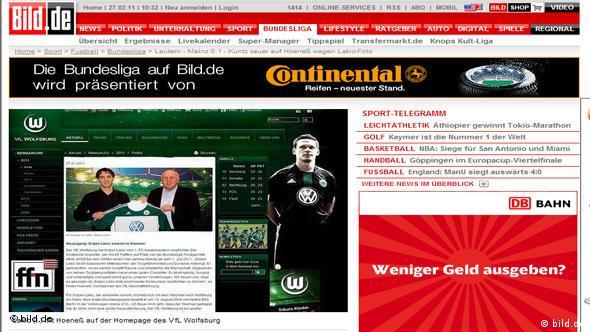 Fotografija koja je isprovocirala navijače Kaiserslauterna (izvor: bild.de)