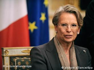 French Foreign Minister Alliot-Marie