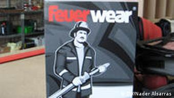 A product carton of Feuerwear