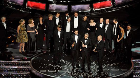 And the Oscar goes to...'King's Speech'!