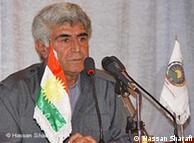 حسن شرفی، از اعضای رهبری حزب دمکرات کردستان ایران