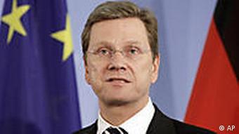 Bundesaußenminister Guido Westerwelle (Foto: AP)