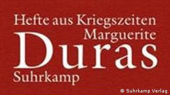 روی جلد ترجمه آلمانی دفترهایی از زمان جنگ