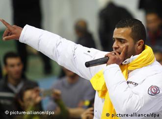 Tunesischer Rapper El Général(Foto: picture-alliance/dpa)