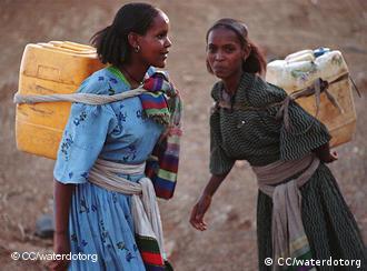 Las mujeres se ven afectadas en mayor medida por el cambio climático.