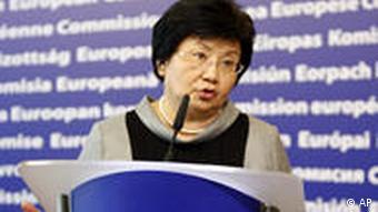 Brüssel Präsidentin Kirgisistans Rosa Otunbajewa