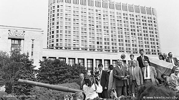 Μόσχα 1991, Μπόρις Γιέλτσιν