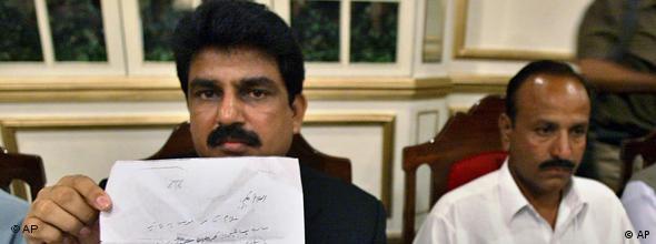 Pakistan's former minister for minorities Shahbaz Bhatti