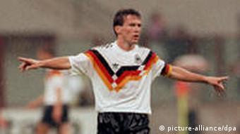 Lothar Matthäus in German kit
