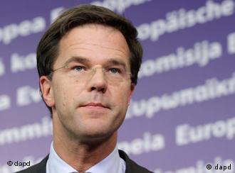 Premierul olandez Mark Rutte