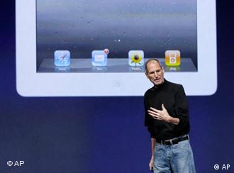 استیو جابز، مدیرعامل کمپانی اپل