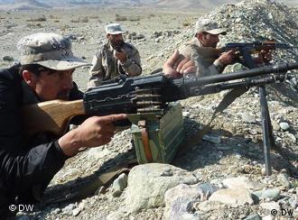 Afghanische Soldaten in der Nangarhar Provinz (Foto: Sham Ahmadzai)