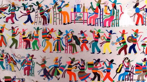 Flash-Galerie Mexikanischen Otomi Stickereien