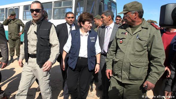 Kristalina Georgieva u Tunisu 2011.