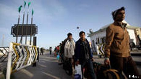 Libyen Tunesien Migranten Arbeiter (dapd)