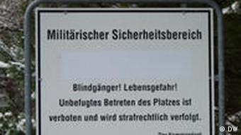 Пока на территории бомбадрома стоят таблички, предупреждающие об опасности