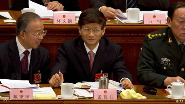 Meng Jianzhu, Vorsitzender der Parteikommission für Politische und Rechtliche Fragen, will das Laogai System beenden (Foto: AP Photo/Ng Han Guan)