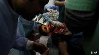 Libyen / Verletzter / Bürgerkrieg