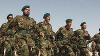 رژهی نیروهای ارتش افغانستان، آیا افغانستان قادر هست امنیت خط لوله گاز تاپی را تامین کند؟