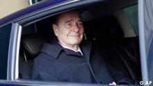 Frankreich Jacques Chirac Prozess