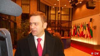 Kryetarit i ekipit të Beogradit, Borislav Stefanovic.