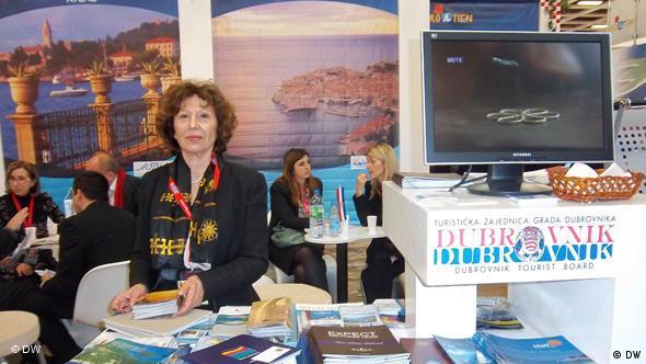 Hrvatski štand na Međunarodnom sajmu turizma u Berlinu - Maja Milovčić iz Dubrovnika