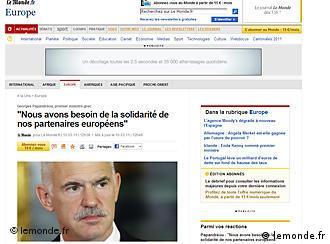 Internetska stranica Le Mondea