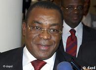 Mr Pascal Affi N'guéssan, président du FPI