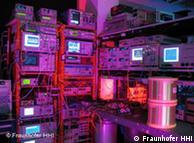 فرانھوفر ہائنرش ہیرٹز انسٹیٹیوٹ برلن میں ڈیٹا ٹرانسفر کا نیا ریکارڈ قائم کرنے والی لیبارٹری