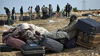 Libyen, Flüchtlinge