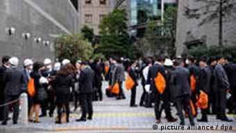 Japan Tokio Erdbeben Tsunami