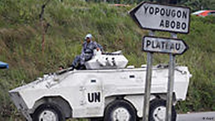 Elfenbeinküste UNO Truppen in Abidjan (dapd)