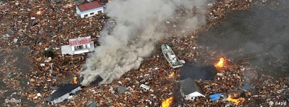 NO FLASH Japan Erdbeben Tsunami