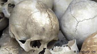 Anatomie Völkermord Symbolbild