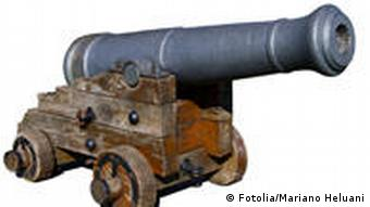 Waffe Festung Geschichte Symbolbild
