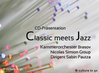 Flyer 'Classic meets Jazz' (Foto: culture to go)