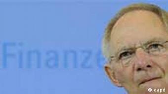 Министр финансов ФРГ Вольфганг Шойбле