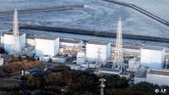Das Kernkraftwerk Fukushima (Quelle: AP)
