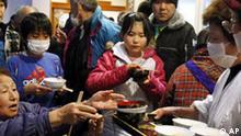 Fukushima 2011 Bevölkerung