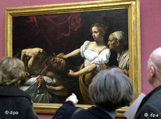 أعمال كارافاجيو في صالة العرض الرئيسية في برلين