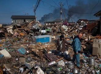 Zerstörtes Sendai (Foto: AP)