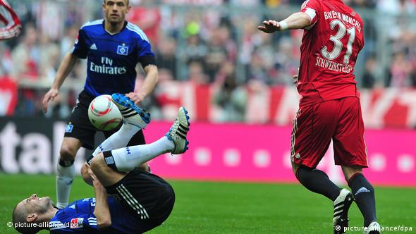 HSV against Bayern match