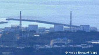 Japan Fukushima Erdbeben AKW Block 3