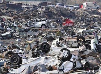 Athari za tetemeko la ardhi na tsunami nchini Japan