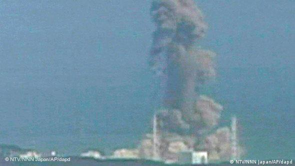 Japan Fukushima AKW Explosion Block 3 Flash-Galerie