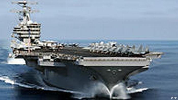 US Navy aircraft carrier USS Ronald Reagan (AP)