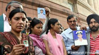 Families of Indian captives call out to the Indian government for help