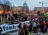 تظاهرات در پوتسدام علیه انرژی اتمی