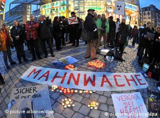 Anti-Atomkraft-Demo in Chemnitz (Foto: Hendrik Schmidt dpa/lsn)