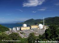 La planta nuclear Angra I y Angra II, en el estado de Río de Janeiro.